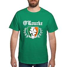 O'Rourke Shamrock Crest T-Shirt