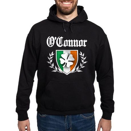 O'Connor Shamrock Crest Hoodie (dark)