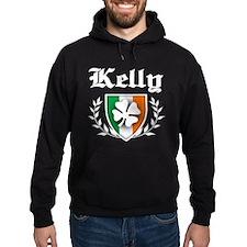 Kelly Shamrock Crest Hoodie