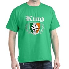 King Shamrock Crest T-Shirt