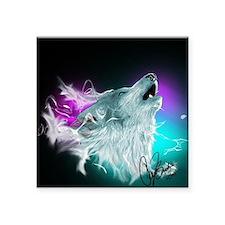 Northern Lights Wolf Spirit Sticker