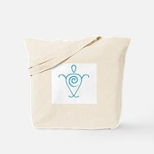 Peaceful Heart Sea Turtle Tote Bag