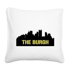 The Burgh Square Canvas Pillow