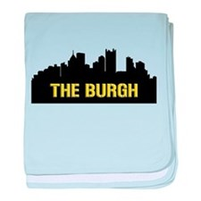 The Burgh baby blanket