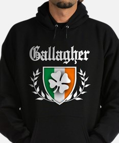 O'Gallagher Shamrock Crest Hoodie (dark)