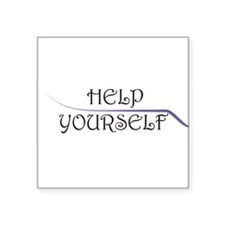 Help Yourself Sticker