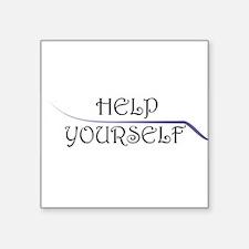 Help Yourself Sticker