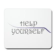 Help Yourself Mousepad