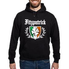 Fitzpatrick Shamrock Crest Hoodie