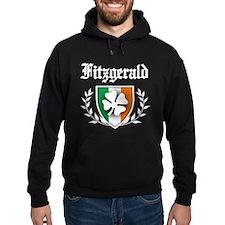 Fitzgerald Shamrock Crest Hoodie