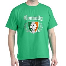 Connolly Shamrock Crest T-Shirt