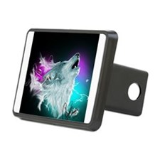 Northern Lights Wolf Spirit Hitch Cover