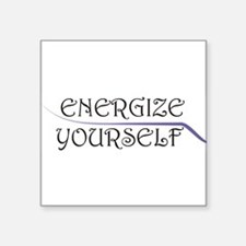 Energize Yourself Sticker