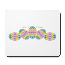 Rainbow Easter Eggs Mousepad