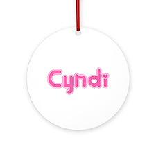 """Cyndi"" Ornament (Round)"