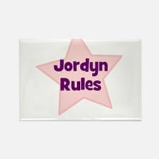Jordyn Rules Rectangle Magnet