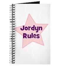 Jordyn Rules Journal