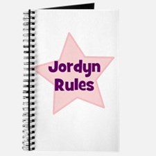 Jordyn Rules Journal