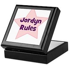Jordyn Rules Keepsake Box
