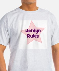 Jordyn Rules Ash Grey T-Shirt