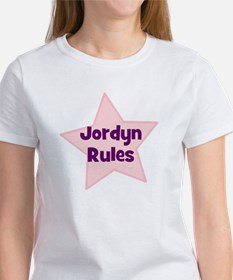Jordyn Rules Women's T-Shirt