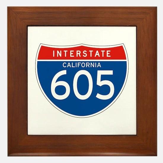 Interstate 605 - CA Framed Tile