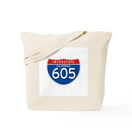 Interstate 605 - CA Tote Bag