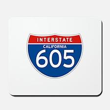 Interstate 605 - CA Mousepad