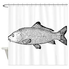 Carp Fish Shower Curtain