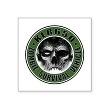 KLR zombie OD Sticker
