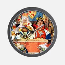 Trial of the Knave of Hearts Wall Clock
