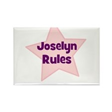 Joselyn Rules Rectangle Magnet