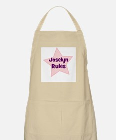 Joselyn Rules BBQ Apron