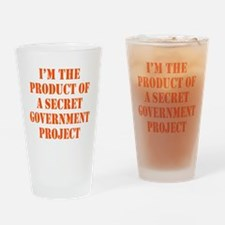 Product of Government Drinking Glass