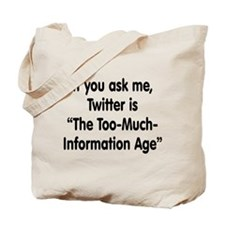 TMI on Twitter Tote Bag