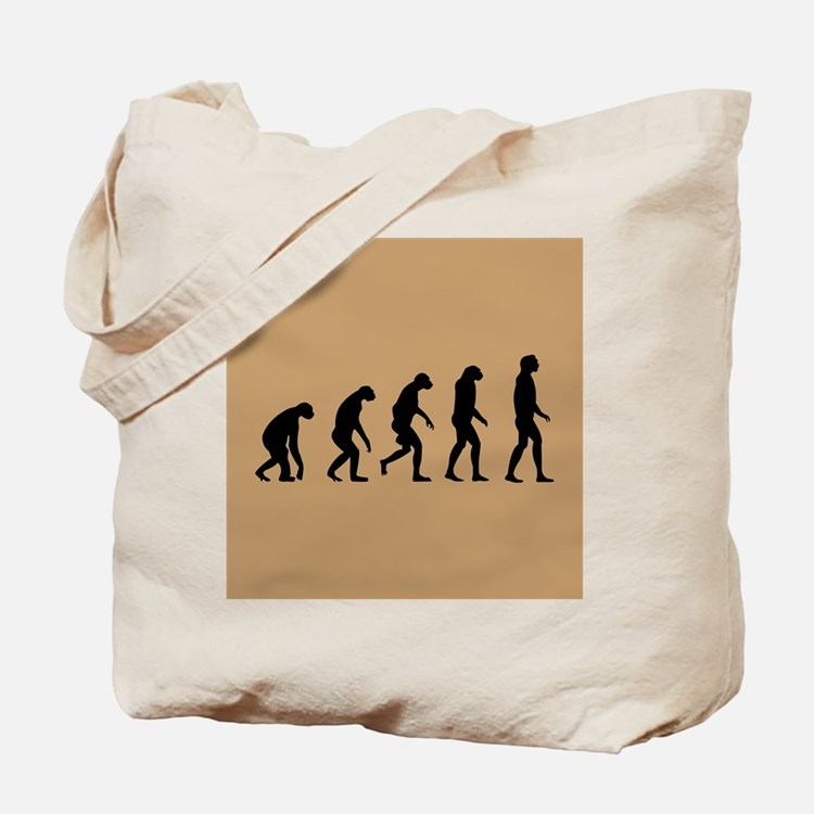 The Ascent of Man Tote Bag