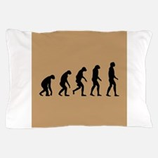 The Ascent of Man Pillow Case