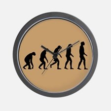 The Ascent of Man Wall Clock