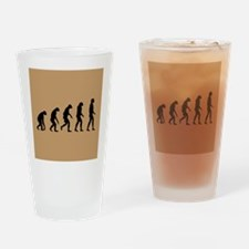 The Ascent of Man Drinking Glass