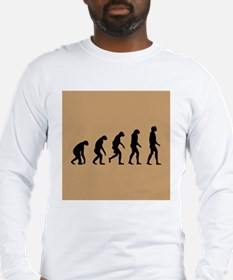 The Ascent of Man Long Sleeve T-Shirt
