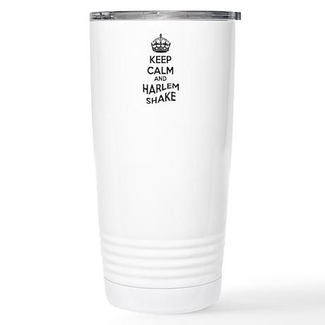 Keep Calm and Harlem Shake Travel Mug