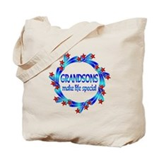 Grandsons are Special Tote Bag