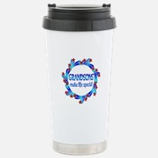 Grandsons are Special Stainless Steel Travel Mug