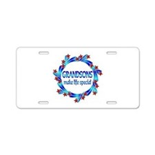 Grandsons are Special Aluminum License Plate