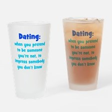 Dating Definition Drinking Glass