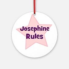 Josephine Rules Ornament (Round)