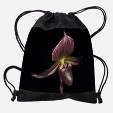 Paphiopedilum_SupersukXCyberspace_1 Drawstring Bag