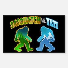 Sasquatch Yeti Match Up Decal