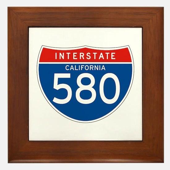 Interstate 580 - CA Framed Tile