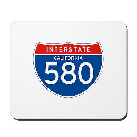 Interstate 580 - CA Mousepad